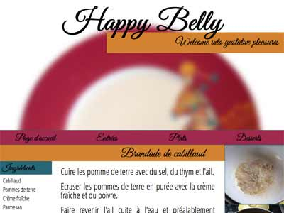 Photographie du site de Happy Belly