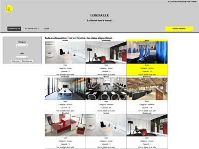 Photographie du site de Lokisalle