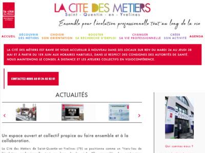 Photographie du site de la Cité des Métiers de Saint-Quentin-en-Yvelines (78)